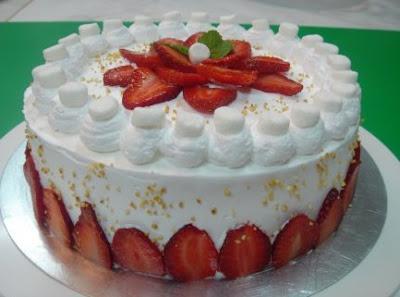 торт из зефира с фото