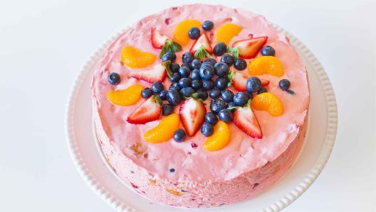 как приготовить торт из зефира