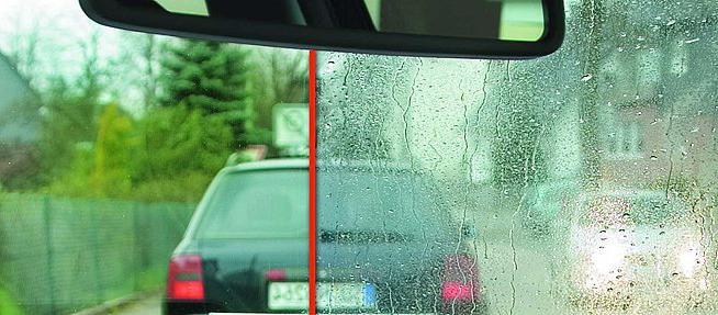 Гидрофобное покрытие и автомобиль