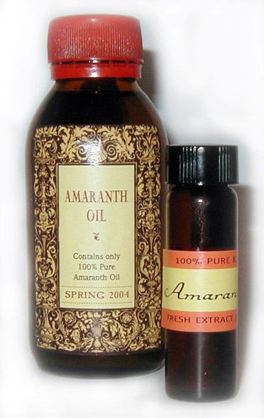 Масло амаранта - применение, лечебные свойства