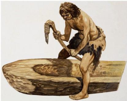 древние орудия труда первобытного человека