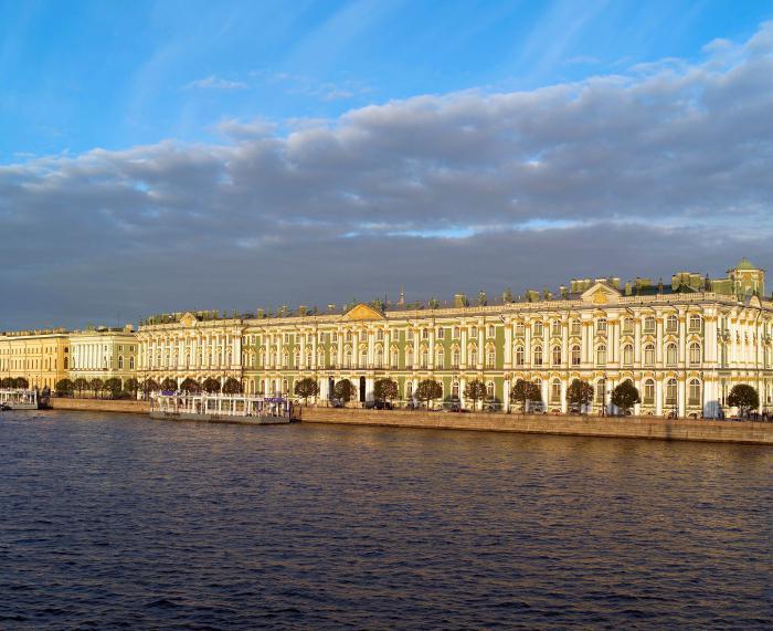 архитектура петербурга восемнадцатого века:
