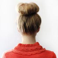 Бублик для волос как пользоваться