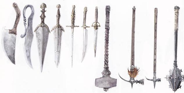 ассасин крид оружие