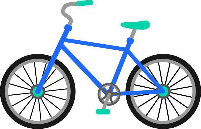 таблица размер велосипеда