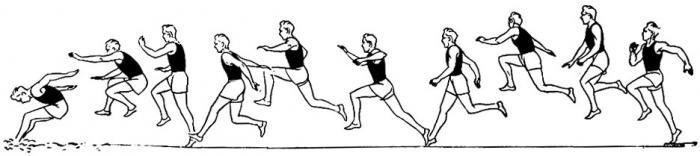 техника тройного прыжка с места