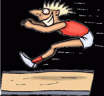 прыжок в высоту с места