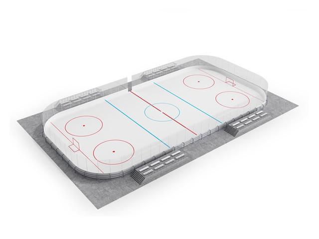 борта хоккейной коробки