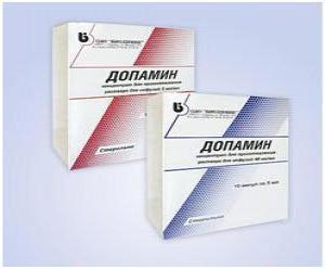 дофамин, инструкция