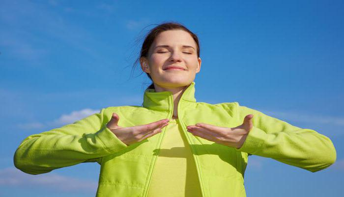 дыхание при выполнении упражнения