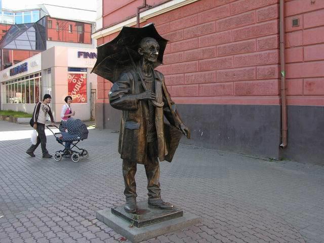 памятники красноярска