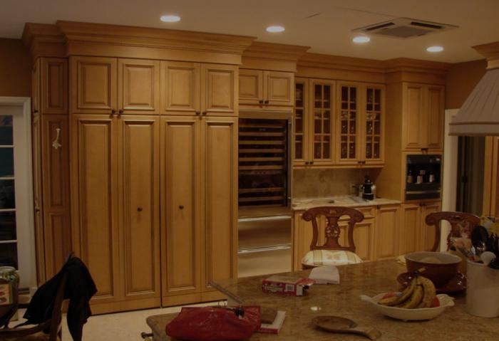 Кухонный фартук из мдф своими руками