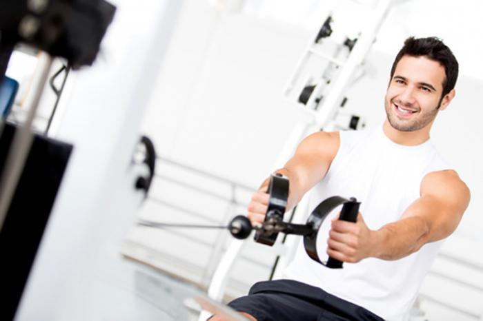 комплекс упражнений для мужчин в тренажерном зале