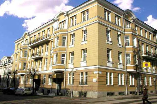 Гостиницы витебска в центре города