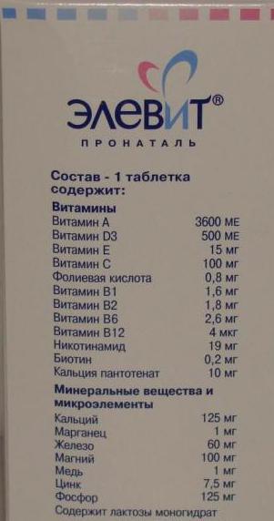 витамины элевит пронаталь отзывы врачей