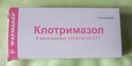 Клотримазол таблетки инструкция по применению и цена