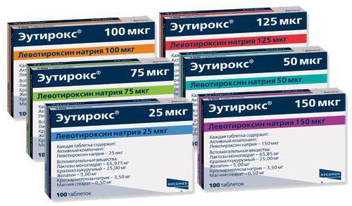 Эутирокс или тироксин что лучше для похудения