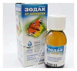 аллергия лекарство цетрин