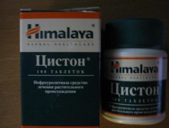 как правильно принимать таблетки цистон при цистите