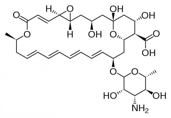 Натамицин инструкция по применению