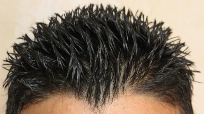 гель для волос мужской