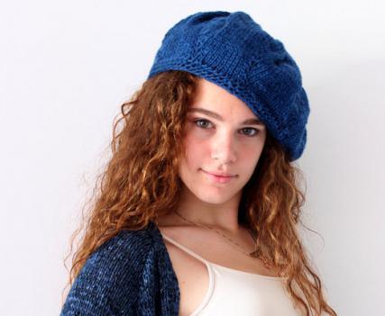 вязание шапок спицами схемы