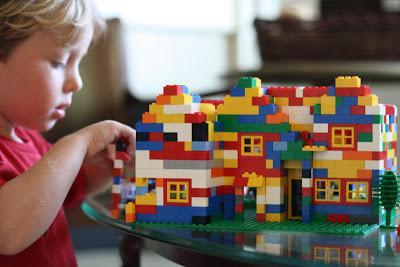 что можно построить из лего