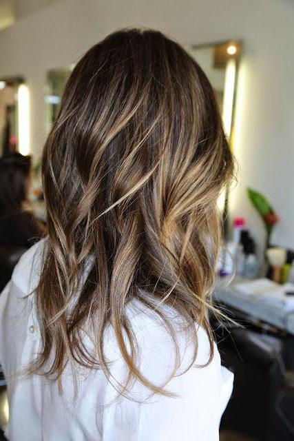 Балаяж на мелированные волосы - 8