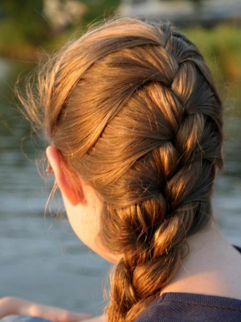 Как можно заплести волосы - 2