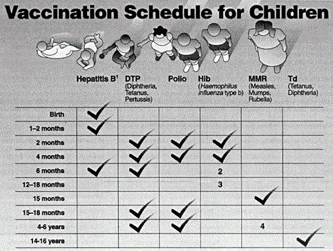 Какие прививки ставят детям
