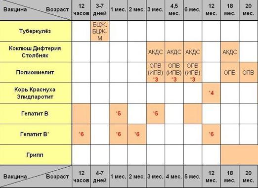 Обязательный график прививок детей до ...: fb.ru/article/172452/obyazatelnyiy-grafik-privivok-detey-do-let