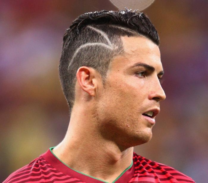 Как называется причёска у роналдо