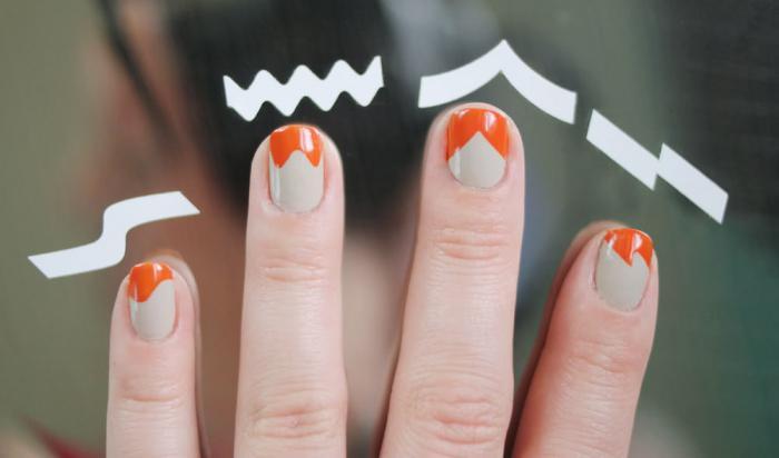 Как пользоваться наклейки для ногтей
