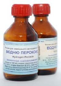 чистка лица перекисью водорода
