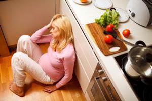 Режущая боль внизу живота при беременности: причины
