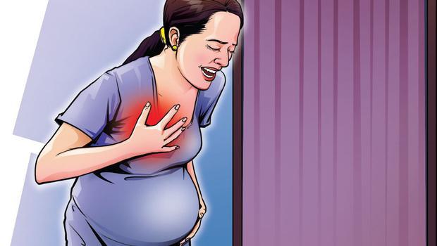 перестала болеть грудь при беременности