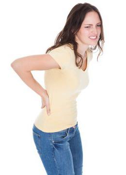 Тянущая боль в пояснице у женщин причины
