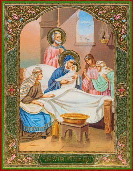 икона рождество христово пресвятой богородицы фото