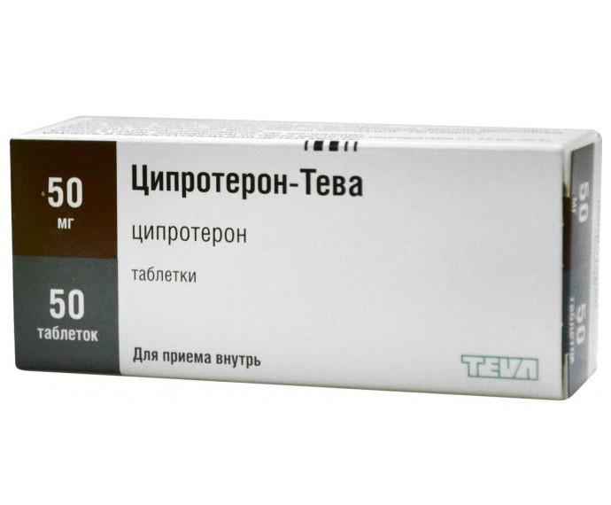 Ципротерона ацетат инструкция