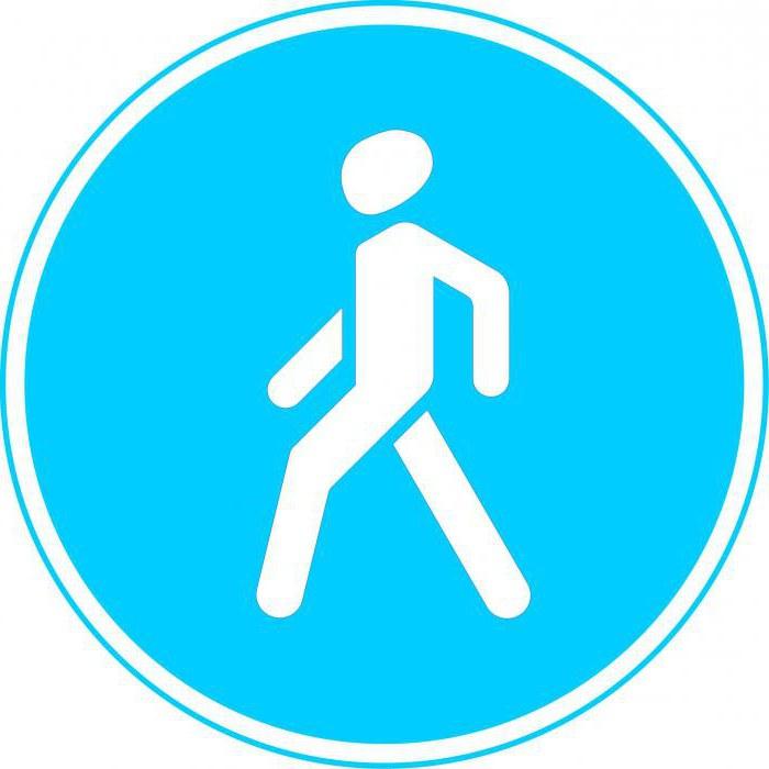 дорожные знаки регулирующие движение пешеходов