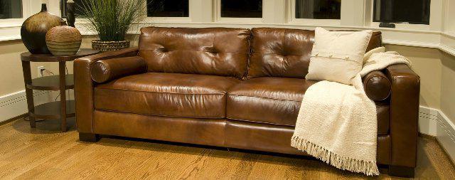 прямой диван экокожа