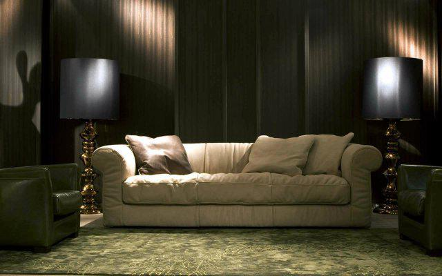 белый диван экокожа