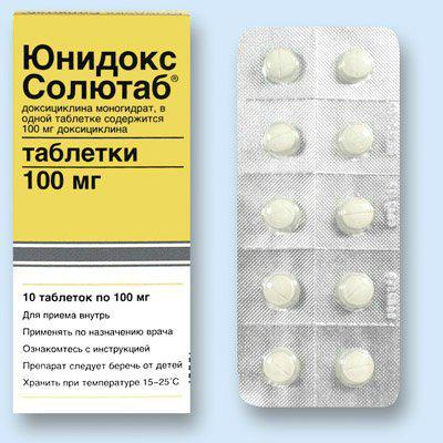 ампициллин или доксициклин что лучше