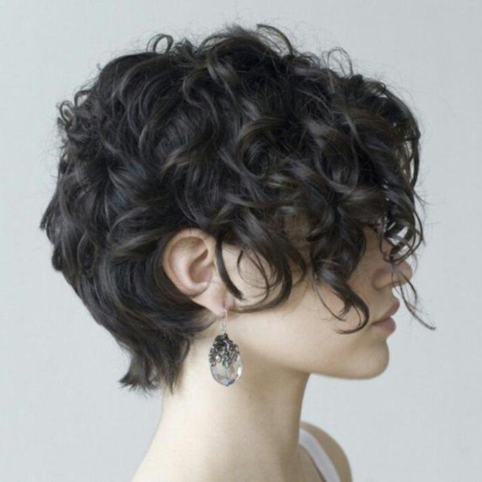 стрижка пикси на короткие волосы фото