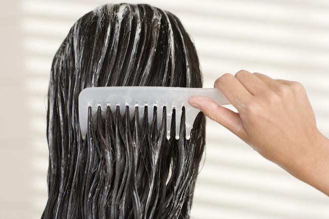 Домашняя маска для волос