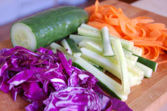 салат с огурцами и с капустой на зиму рецепты
