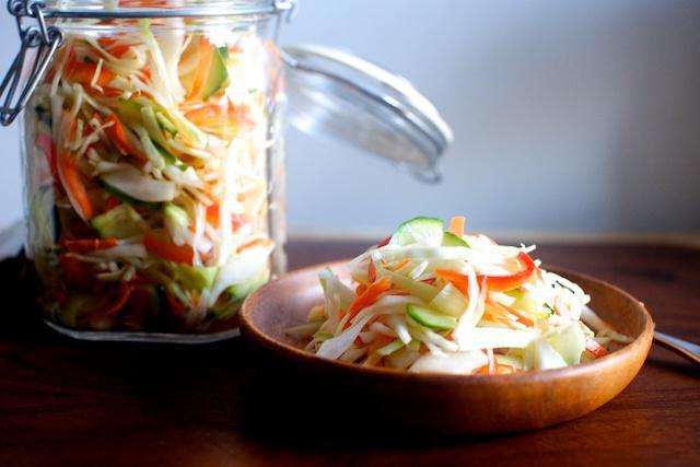 рецепт салат цветная капуста огурцы