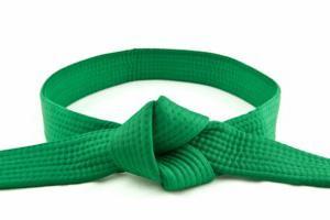 зеленый пояс каратэ