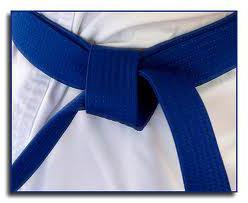 синий пояс по каратэ