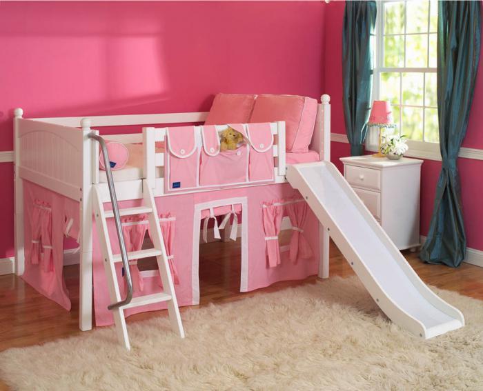 размеры детской односпальной кровати
